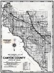 Title Page - Index Map, Canyon County 1939